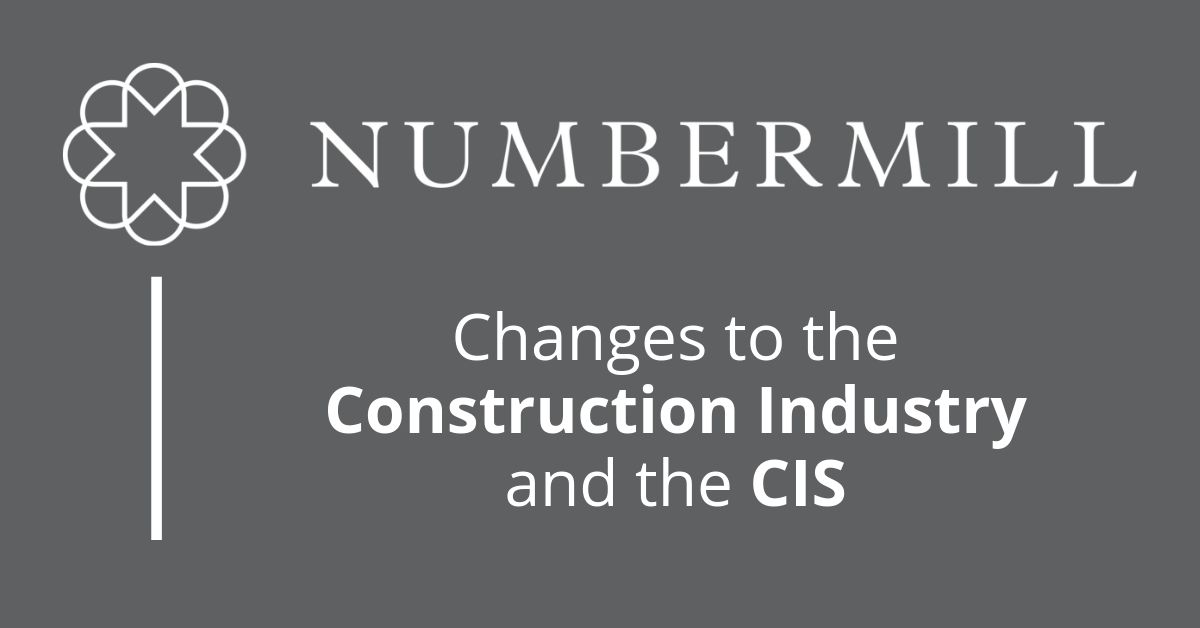 Changes to the Construction Industry and the CIS