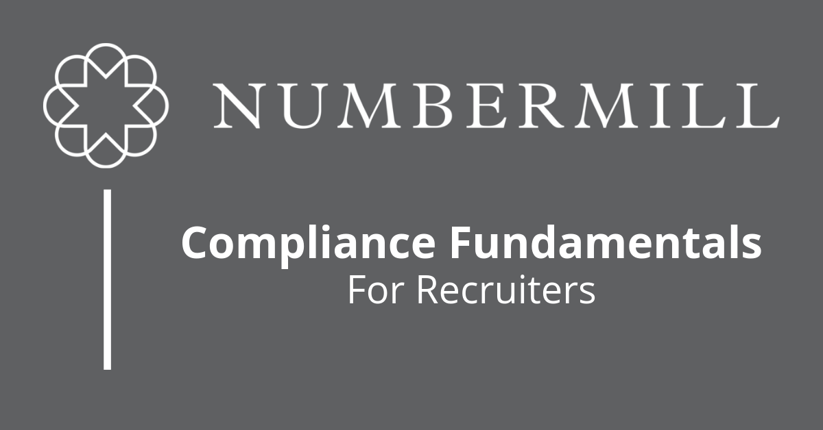 Compliance Fundamentals for Recruiters