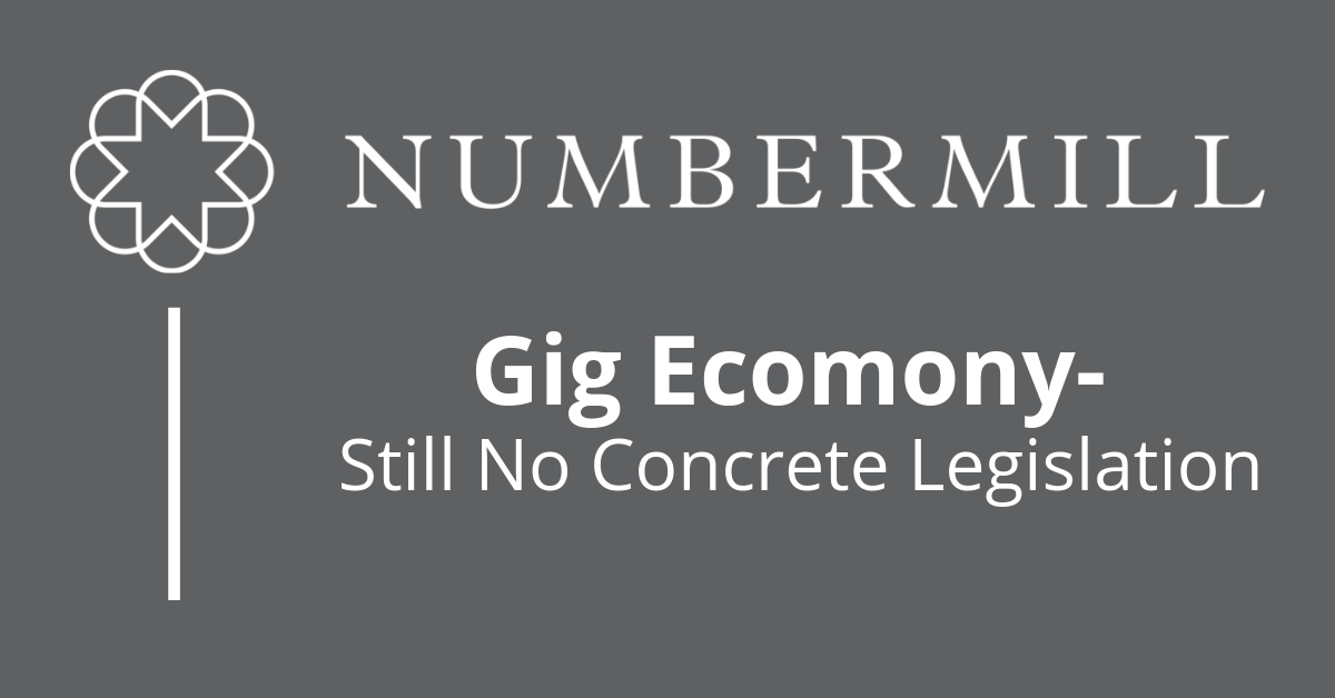 Gig Economy – Still No Concrete Legislation