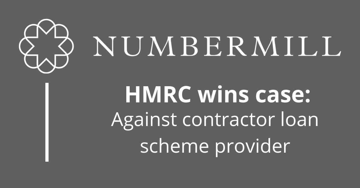 HMRC wins case over loan scheme provider!