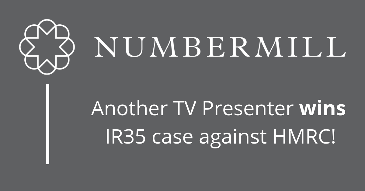 HMRC loses yet another high-profile case against TV Presenter!