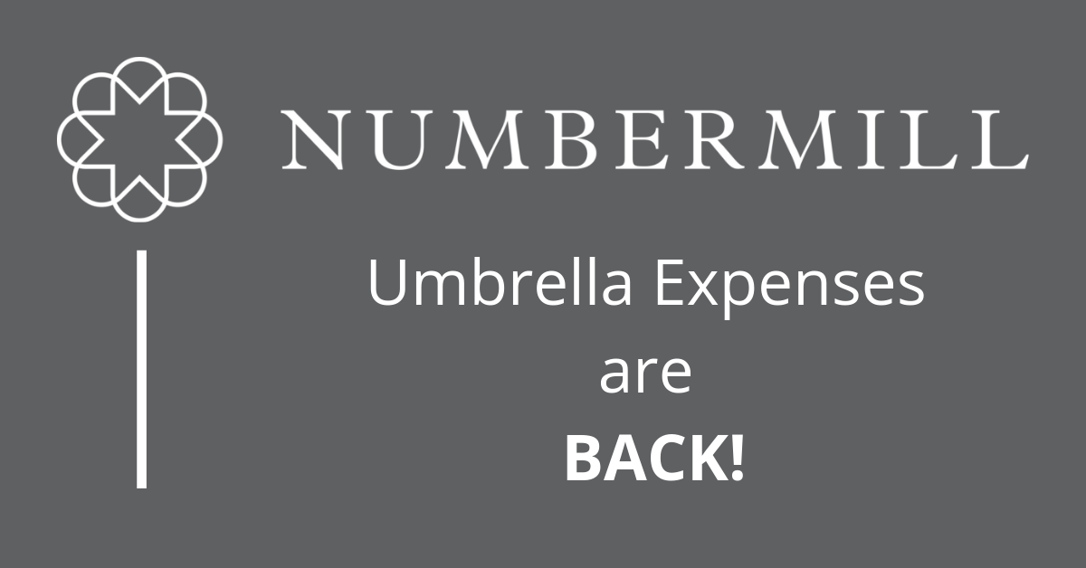 Umbrella EXPENSES are BACK!