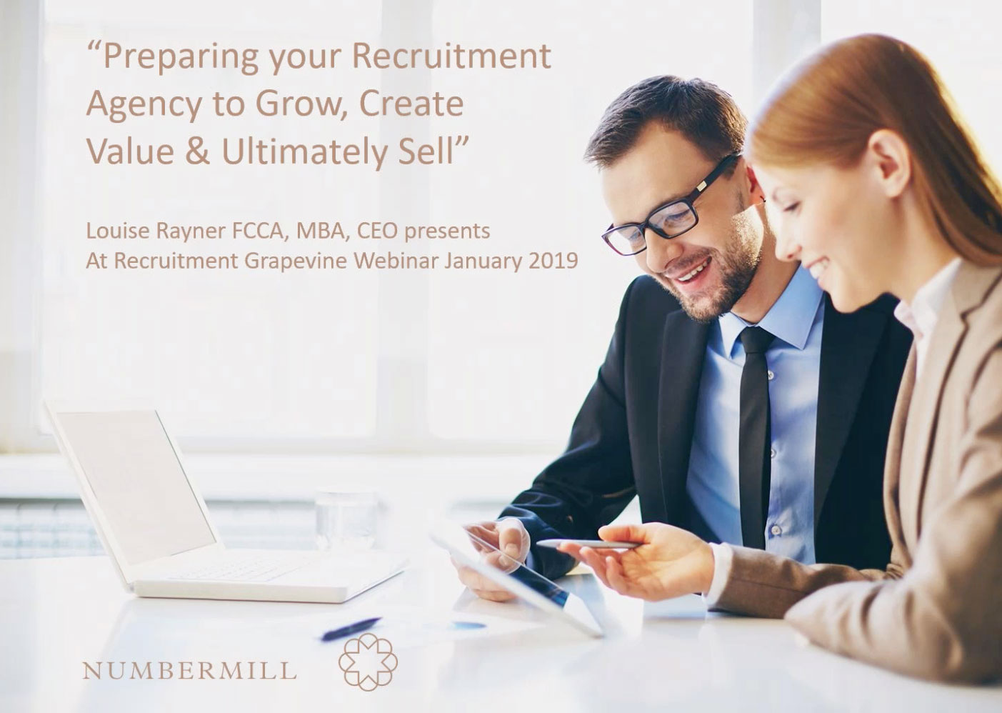Webinar Preparing your Recruitment Agency to Grow, Create Value & Ultimately Sell