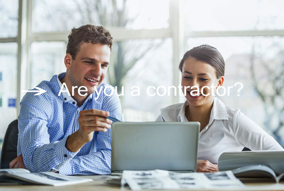 Are you a contractor